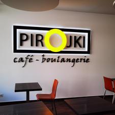 Enseigne Lumineuse Boulangerie Pirojki