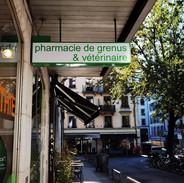 Enseigne Drapeau pharmacie