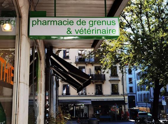 Enseigne Pharmacie & vétérinaire