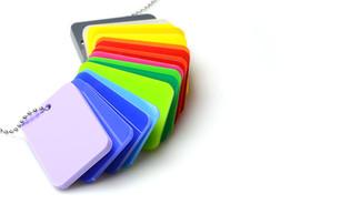 Plexiglass, Makrolon, Perspex, pmma, plexi, plexiglass, couleur, noir, translucide,