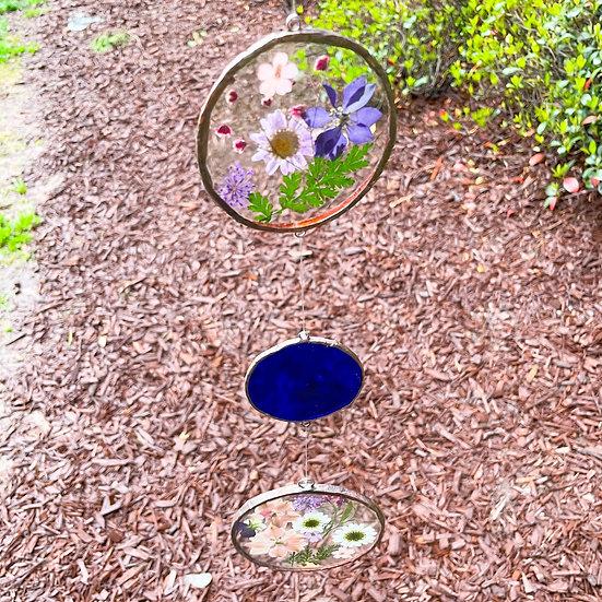 Blue Flower Mobile