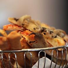 Warm Artisan Assorted Bread Basket