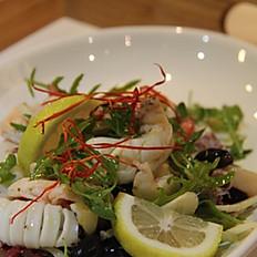 Insalata tiepida di mare (Seafood salad)