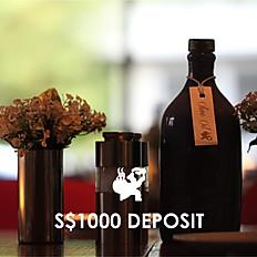 S$1000 Deposit