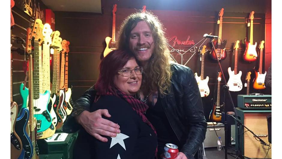 Jared James Nichols Guitar Clinic, Madrid 03/03/2020 (Haylee Column)