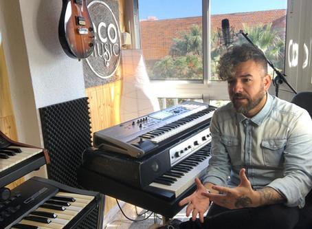Interview with Spanish keyboardist, Fran Lozano/Entrevista con el tecladista, Fran Lozano.