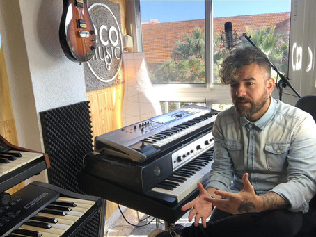 Interview with Spanish keyboardist, Fran Lozano/Entrevista con el tecladista, Fran Lozano.