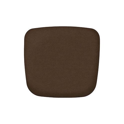 כרית נוחות לכסא צבע חום
