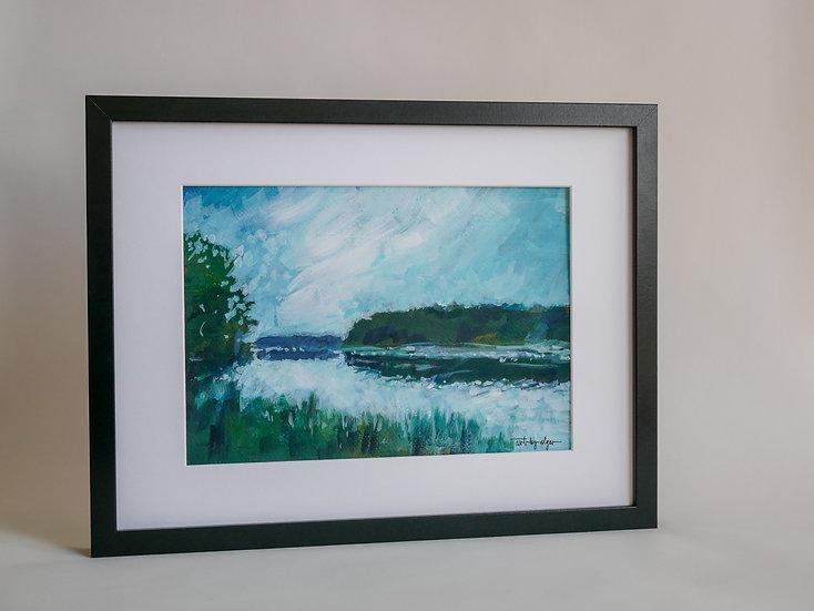 Lake impressions 05 _ A4