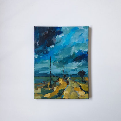 Sky over the Yarra Valley _ 30x40cm