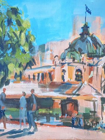 Looking at Flinders Street station.jpg
