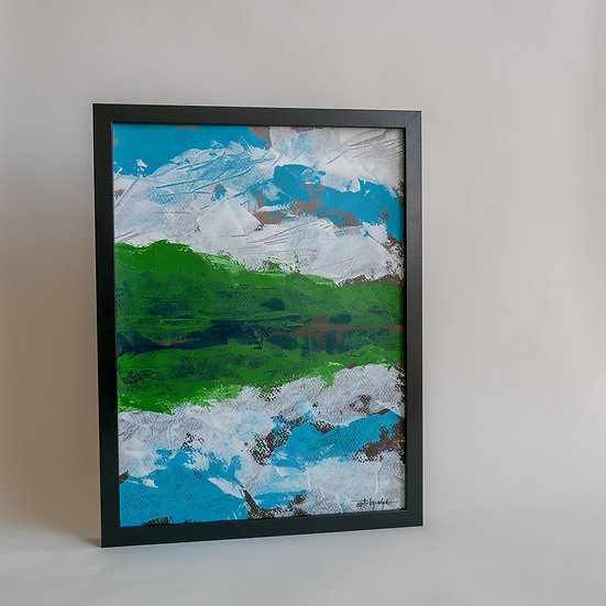 By the lake_30x40cm