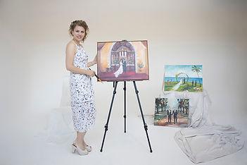 Olga Dziemidowicz_artist_Wedding Day Pai