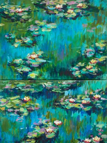 Painting by Olga Dziemidowicz_Lilies diptich_xs-11.jpg