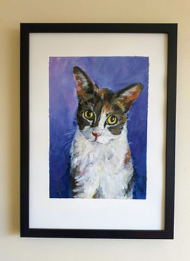 Art-by-olga_painting of Lily the cat1.jp