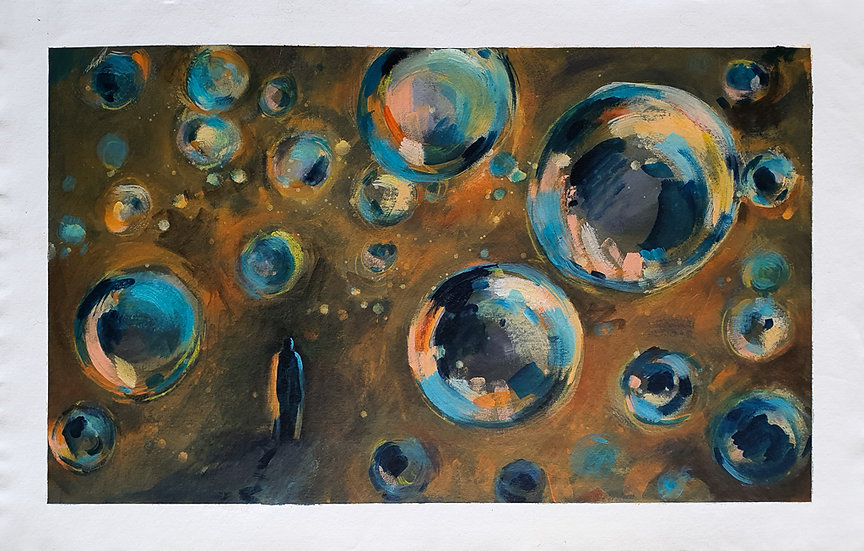 'Bubbles of hope'