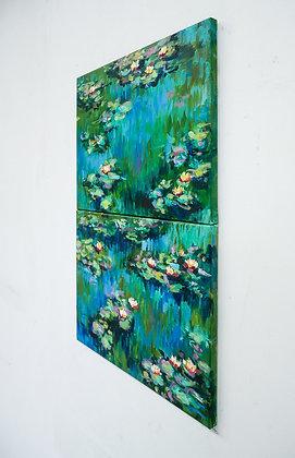 Lilies after Monet