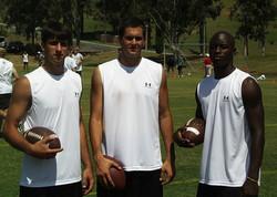 Croyle, Leinart, and Shockley