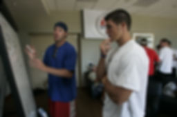 Jordan Palmer and Tim Tebow