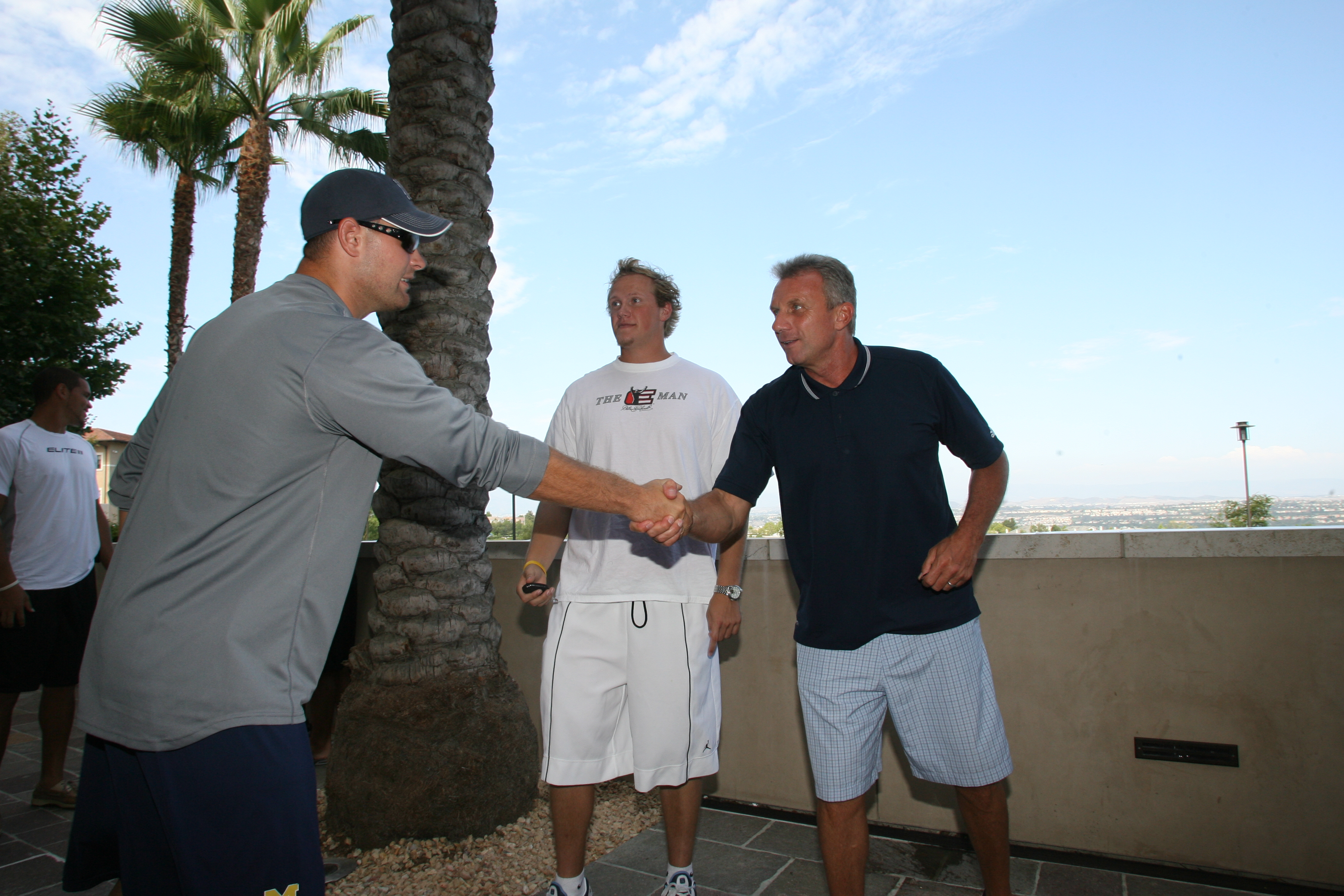 College Counselors meet Joe Montana