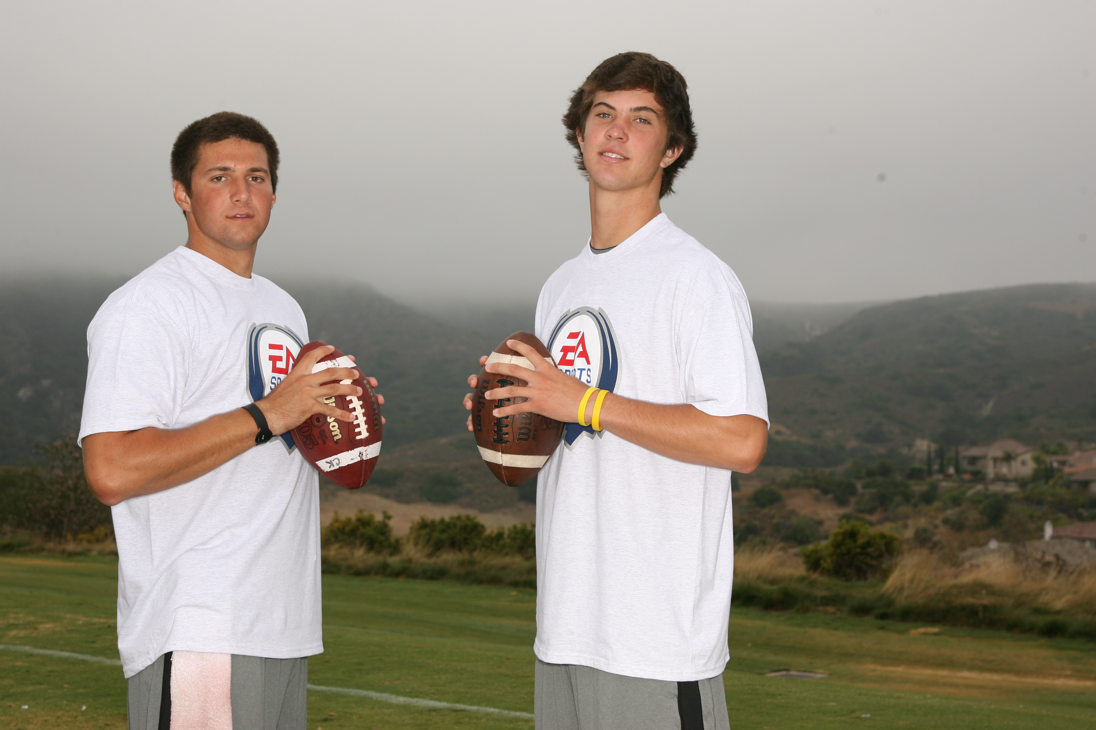 Cody Kessler and Evan Crower