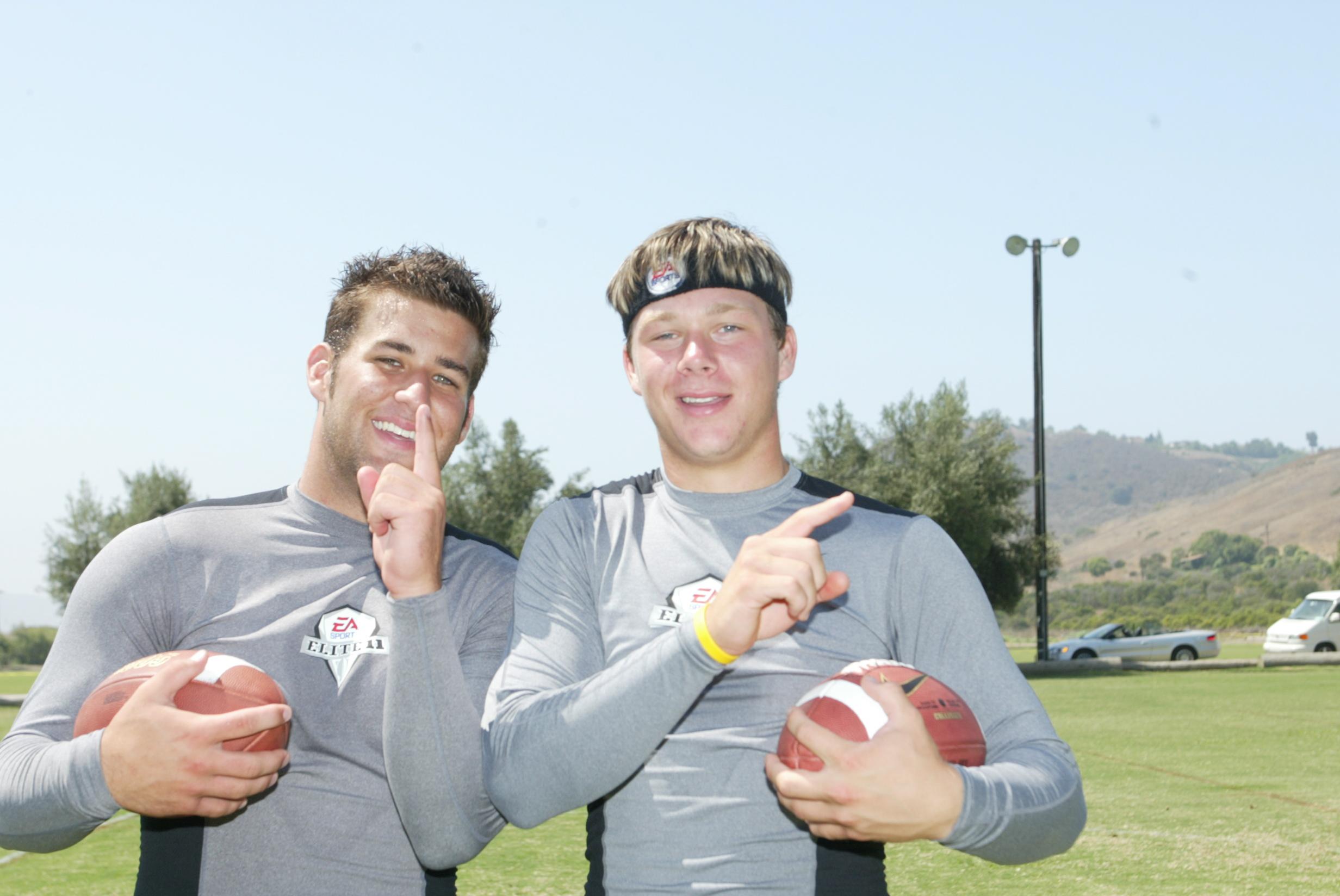 Chase Daniel & Jake Christensen