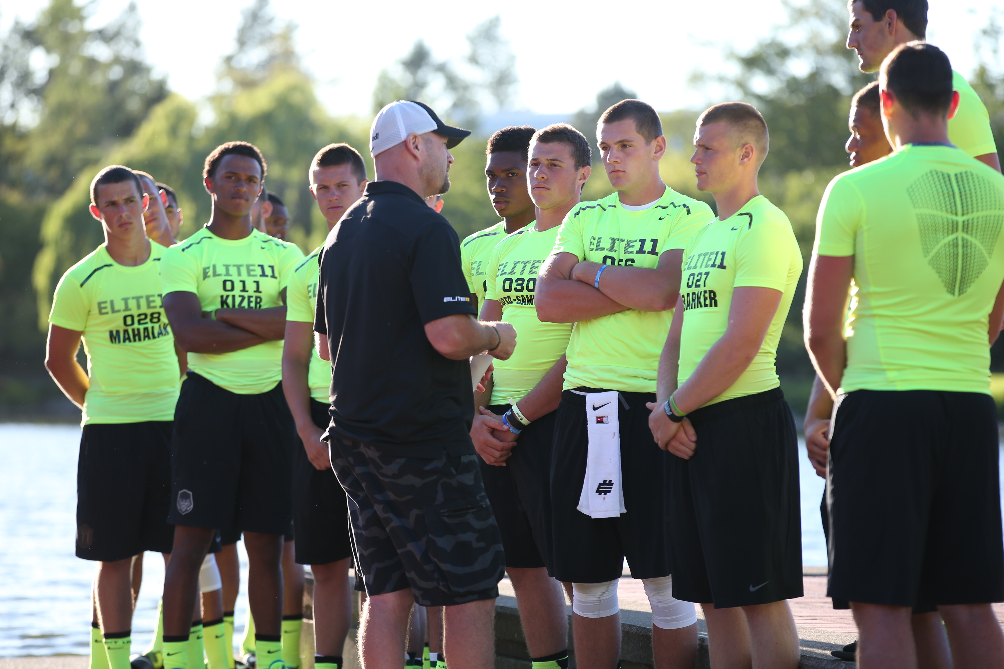 Coach Dilfer Adressing QB's