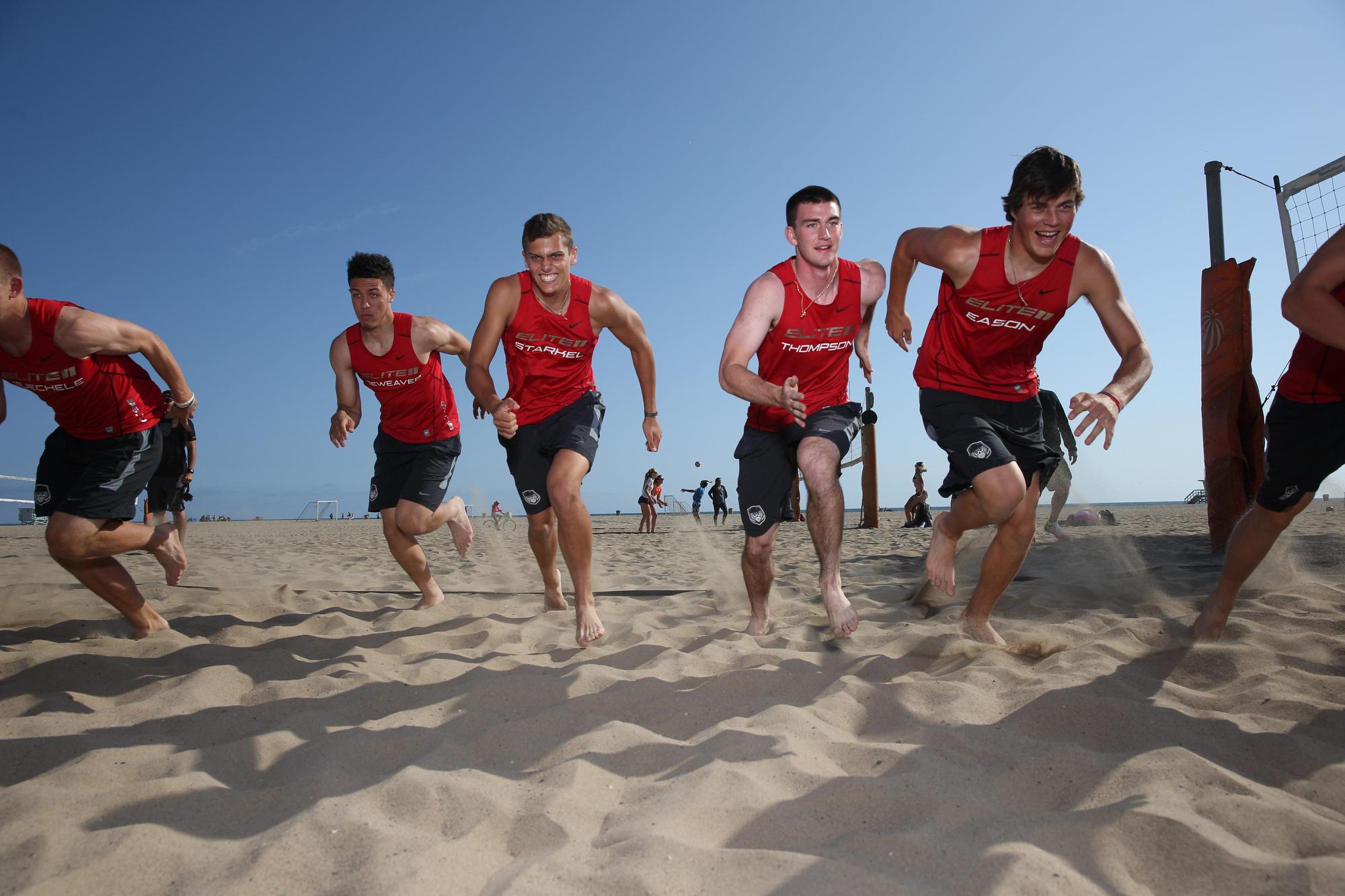 Elite 11 Beach Workout