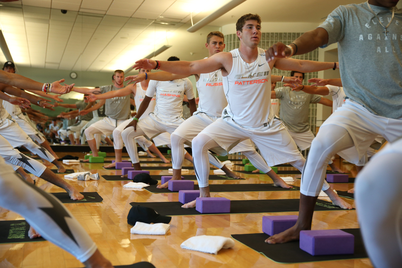 Elite 11 Yoga Session