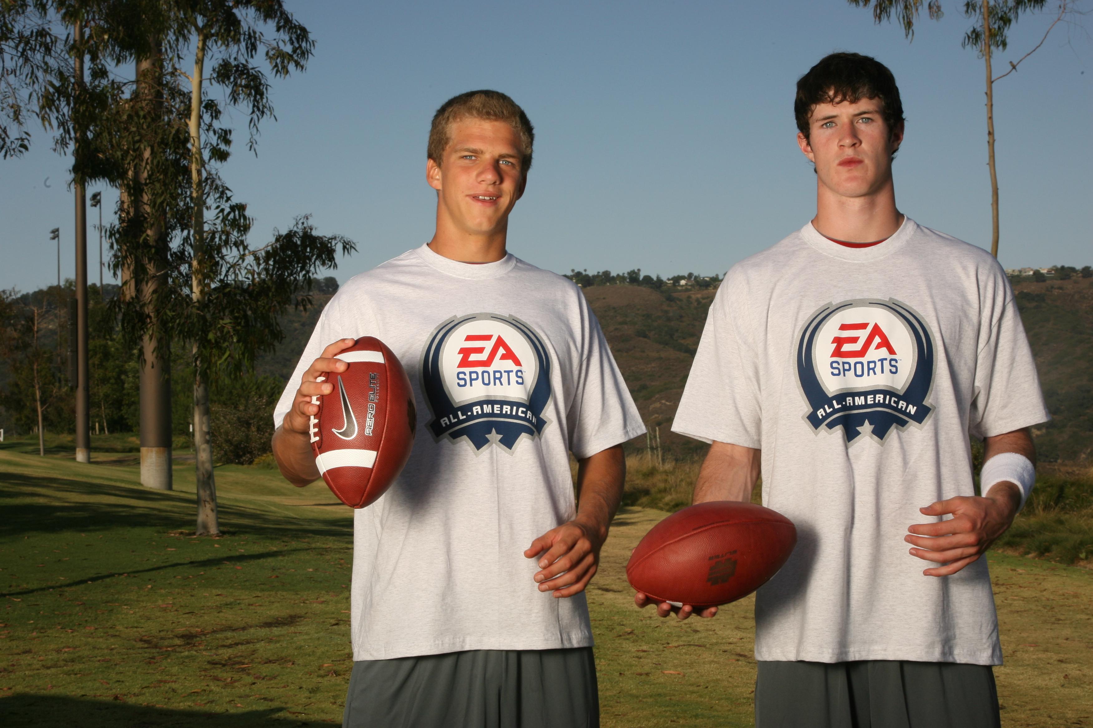 Austin Hinder and Nick Montana