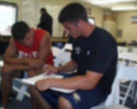 Tyler Palko and David Carr