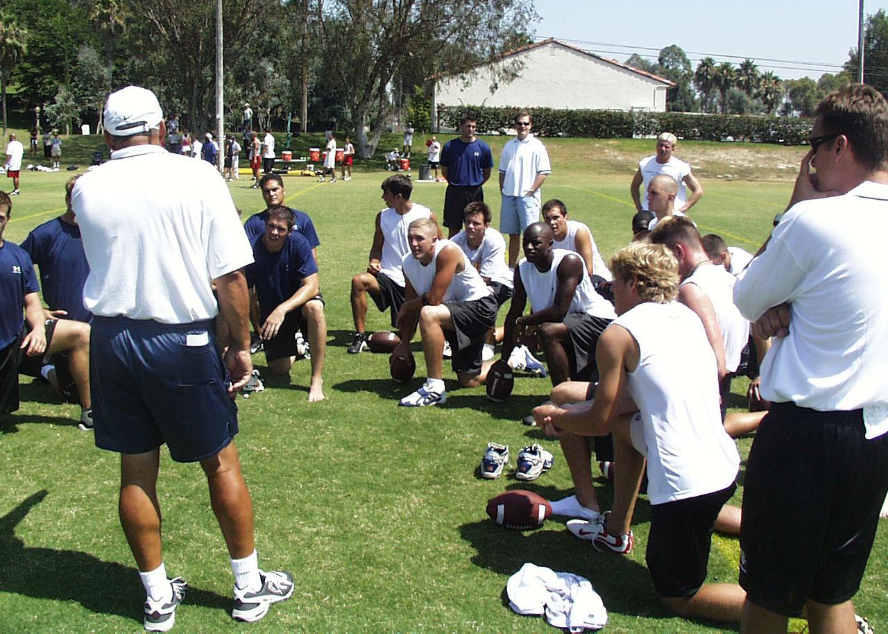 Elite 11 Coach Bob Johnson