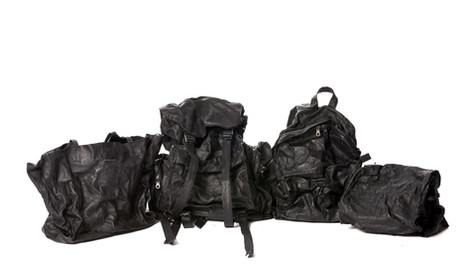 LEATHER BAG COLLECTION IN PARIS