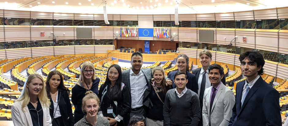 UF Stockholm Travels to Brussels DAY 1