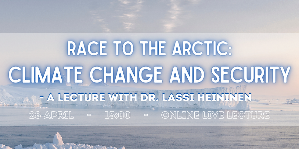 Race to the Arctic: Climate change and Security