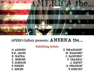 "Travis Gordon has been selected as an exhibiting artist in Apero Gallery's latest show, ""Am"