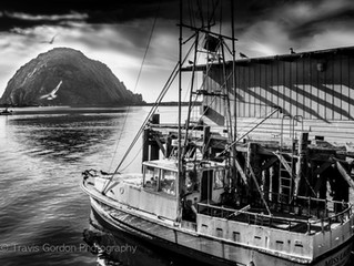 New Work From Recent Trip To Morro Bay