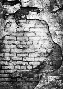 Brick Tomb Wall