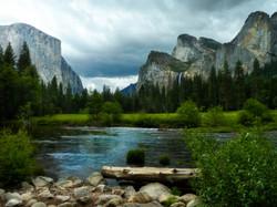 Yosemite Valley Approaching Storm