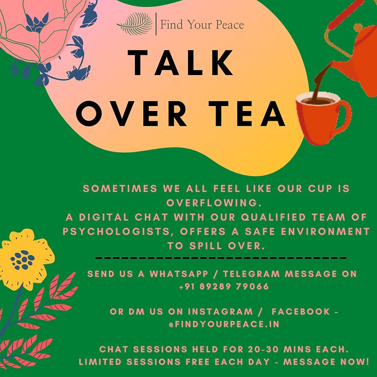 Talk Over Tea