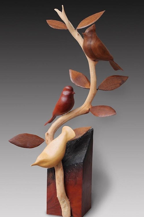 """Songbirds Sculpture"""