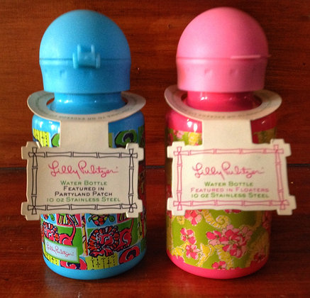 Lilly Pulitzer Stainless Steel Water Bottles