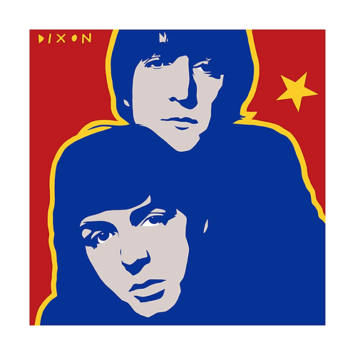 'Lennon and McCartney' Limited Edition Pop Print