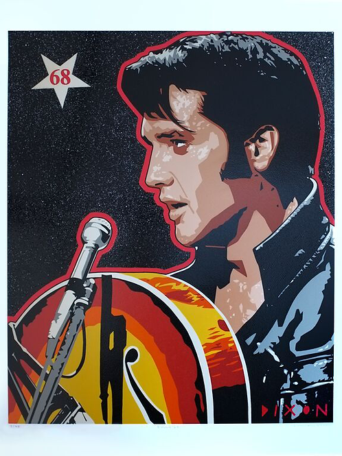 Elvis Presley limited edition print