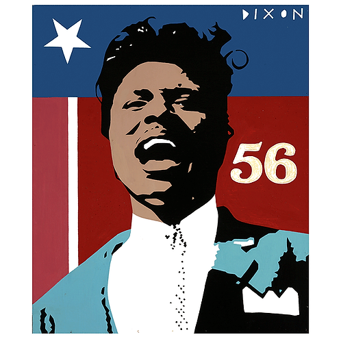 'Little Richard' Limited Edition Pop Print