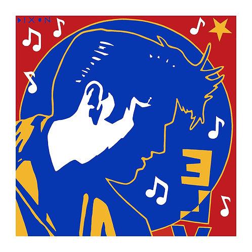 Elvis Presley Art Print Simon Dixon