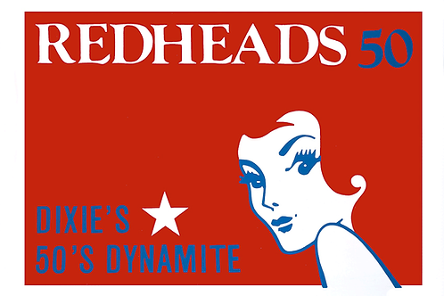 'Red Heads' Limited Edition Pop Print