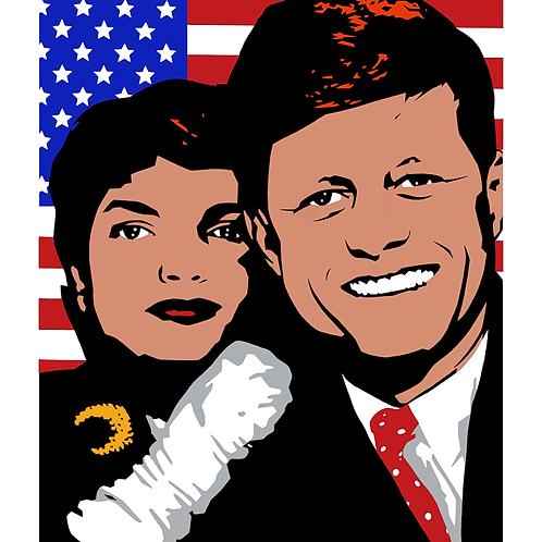'JFK' Limited Edition Pop Print