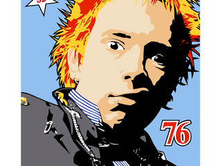 Johnny Rotten 76 appeared on 'Through The Key Hole!'