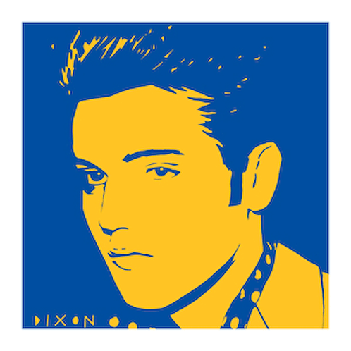 'Elvis' Limited Edition Pop Print